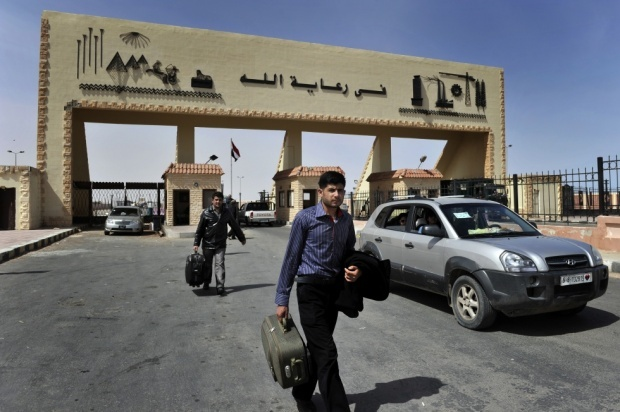 КПП на египетско-ливийской границе