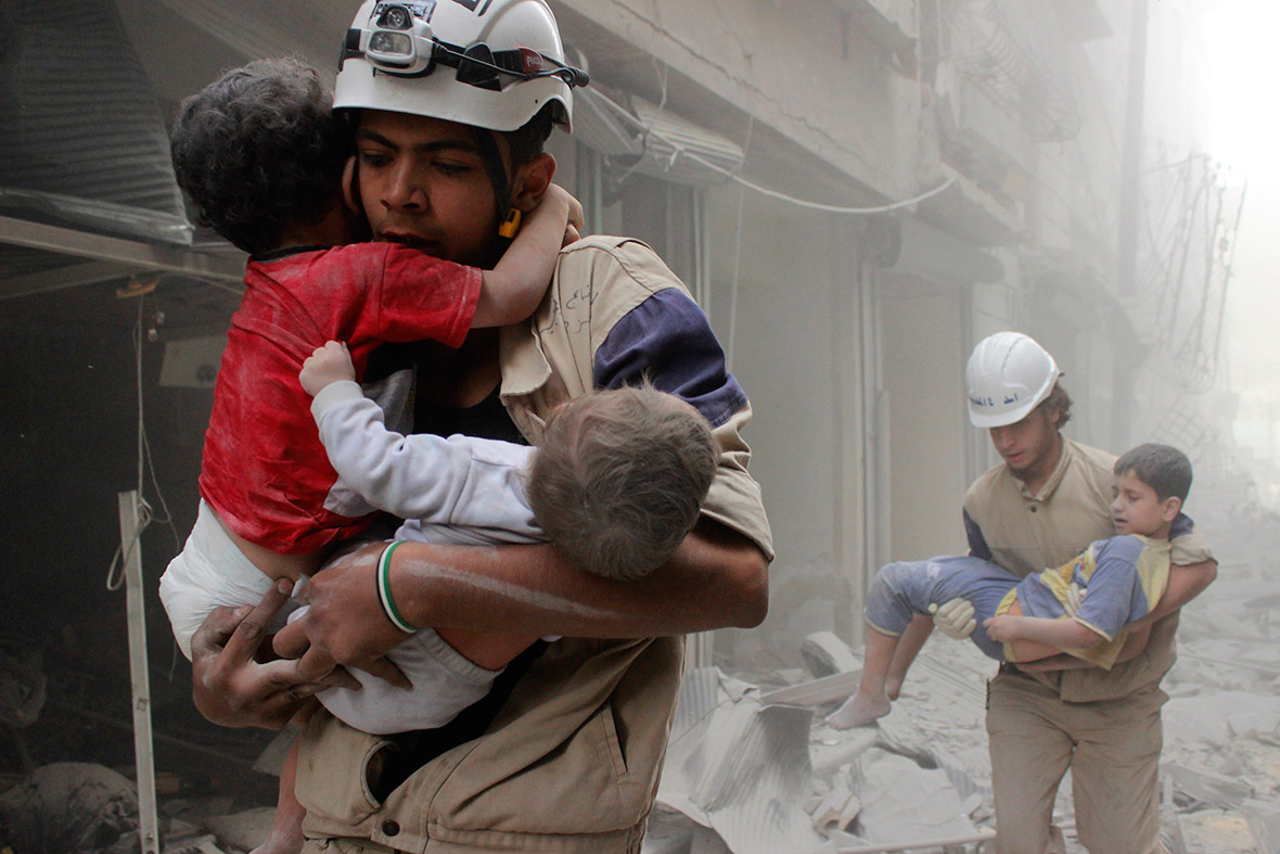 Подсчитано число жертв загод вСирии детей