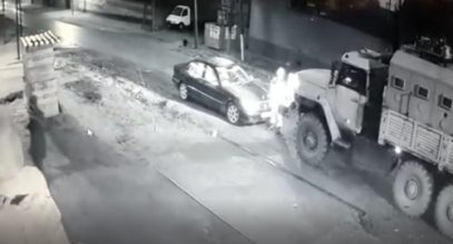 Операция в доме Исы Цечоева попала на видео