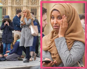 «Мусульманка-монстр» рассказала правду о нашумевшей фотографии
