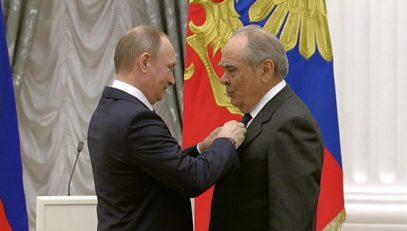 Кобзон сравнил Шаймиева с  Дудаевым , а  Шаймиев  поблагодарил  Ельцина