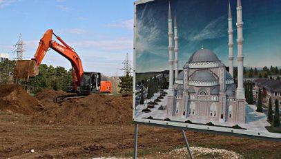 Под личным контролем Путина. Строительство Соборной мечети Крыма ведется с опережением сроков