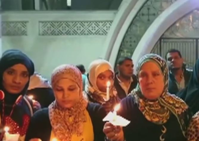 Египетские мусульмане поддержали сограждан христиан (ВИДЕО)