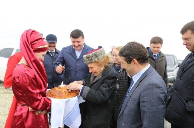 Чествование княгини в Дагестане