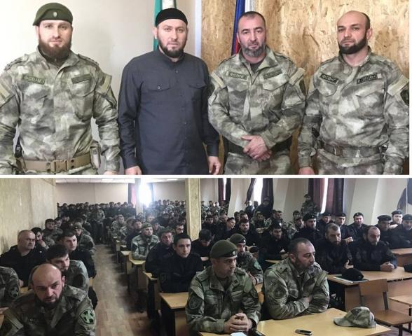 Российская Нацгвардия повышает исламскую духовность