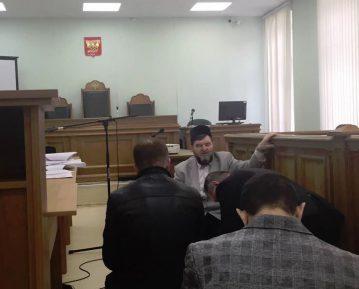 В Московском окружном военном суде прошел пятничный намаз