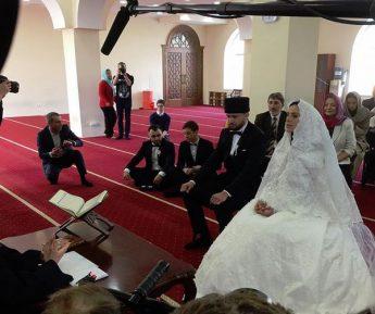 Победительница «Евровидения-2016» провела бракосочетание по канонам ислама