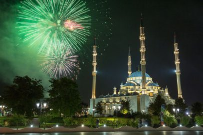 В Чечне провели богоугодную акцию в честь ночи аль-Исра валь-Мирадж