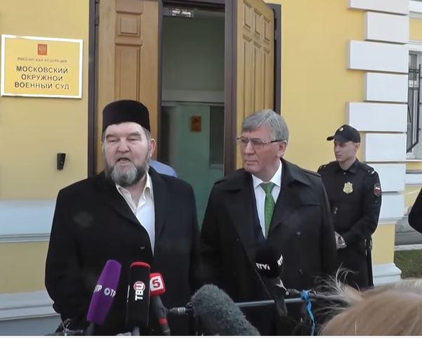 Московский имам Махмуд Велитов, обвиняемый в оправдении терроризма, не признал свою вину (ВИДЕО)