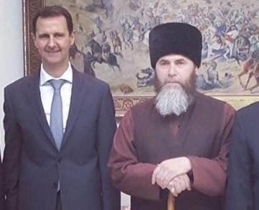 Кадыров раскрыл содержание встречи муфтия Чечни с Асадом