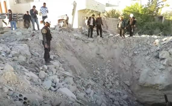 Российская бомба ошеломила боевиков в Сирии (ВИДЕО)