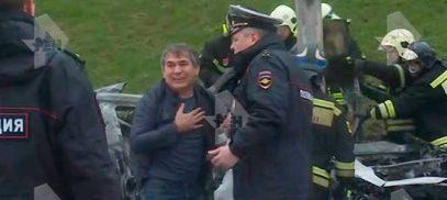Смертельное ДТП в Москве с участием сына «кухонного короля» попало на видео (18+)