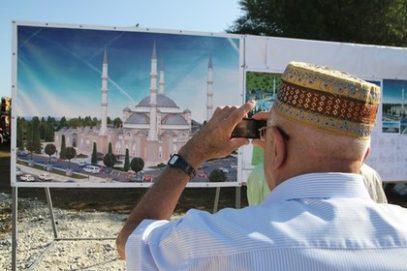 В Крыму начато строительство главной мечети региона
