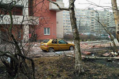 В жилом доме Петербурга прогремел взрыв
