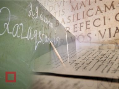 Спор между сторонниками  кириллицы и латиницы, а арабский алфавит вообще проигнорировали