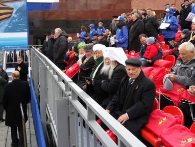 Российские муфтии приняли участие в торжествах по случаю Дня Победы
