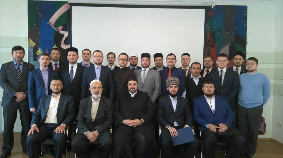 Участники первого заседания Совета улемов