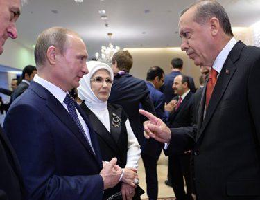 Эрдоган рассказал о реакции Путина на странные снимки