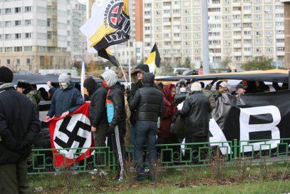 В Казани задержали фашиствующую молодежь