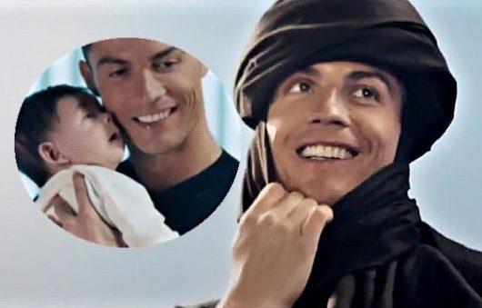 Роналду стал бедуином и заговорил по-арабски (ВИДЕО)