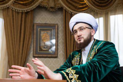 Боевые навыки муфтия Татарстана оценили поясом
