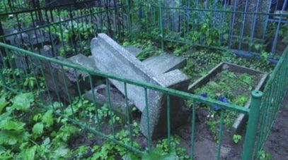 Новый погром на старом кладбище