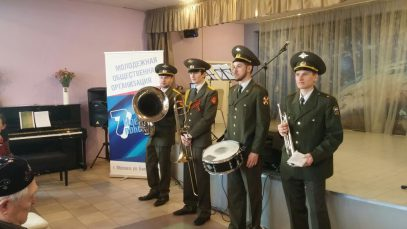 Мусульманская молодёжь Москвы чествует ветеранов