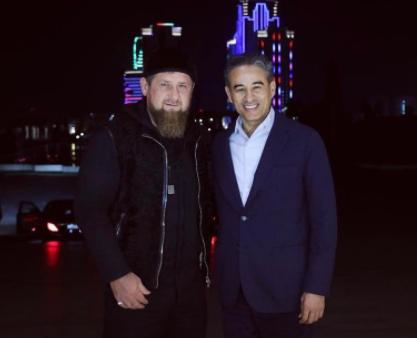 Рамзан Кадыров и Мохаммед Аль Аббари (Фото: instagram.com/kadyrov_95/)