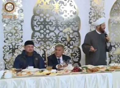 Муфтий Сирии сделал громкие заявления на ужине в честь Минниханова в Грозном