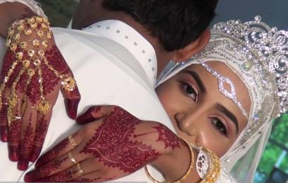 Многоконфессиональная свадьба Мухаммада произвела фурор