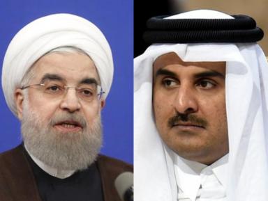 О чем президент Ирана поговорил с эмиром Катара после скандала с Саудией