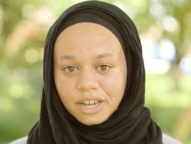 16-летняя мусульманка вошла в историю спорта (ВИДЕО)