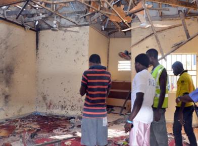 Десятки мусульман, включая детей, убиты во время намаза в мечети