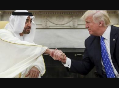 Дональд Трамп не пожалел эпитетов для принца из Эмиратов (ВИДЕО)