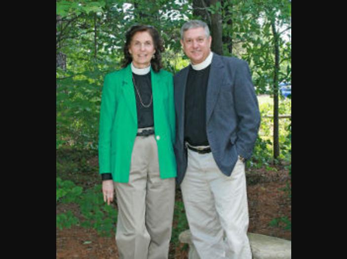 Джим Мельник с женой