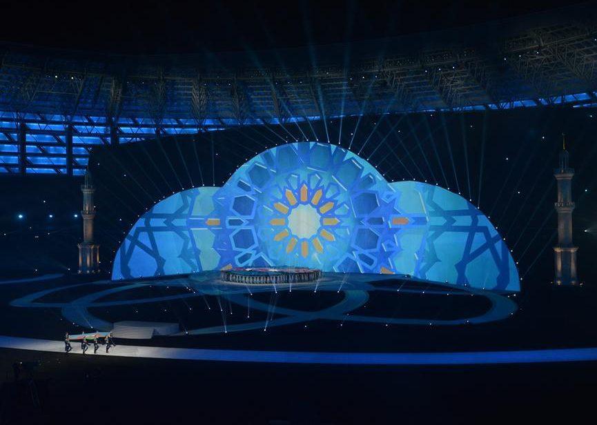 Церемония открытия IV Игр исламской солидарности в Баку (ВИДЕО)