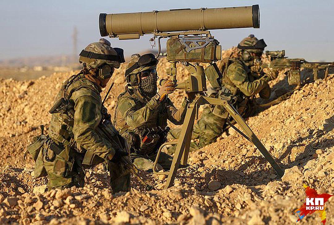 Российские военные в Сирии. Фото: КП