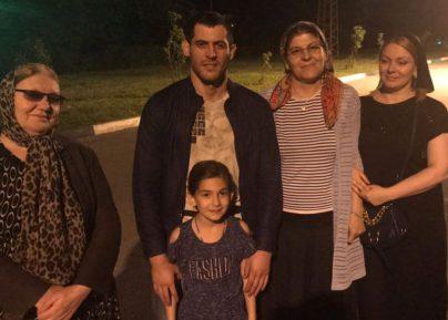 Бойца ММА Мурада Амриева отпустили на свободу (ВИДЕО)