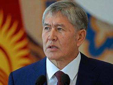 Атамбаев рассказал о тяжких последствиях критики в свой адрес