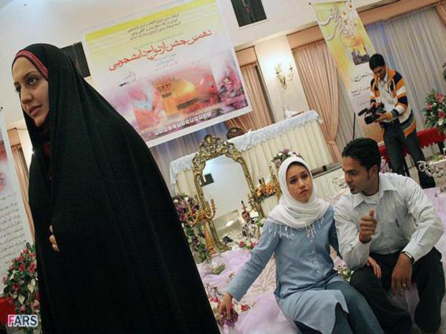 Временные браки узаконены шиитской традицией