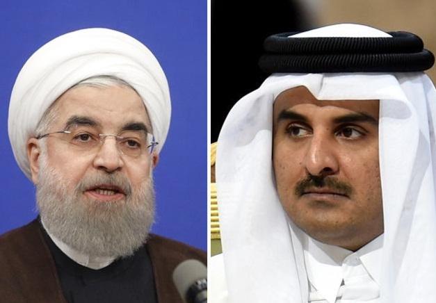 Очем договорился эмир Катара спрезидентом Ирана