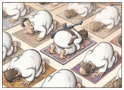 Раскрыт психологический образ «исламского экстремиста» (ВИДЕО)
