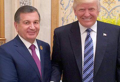 Трамп удивил «исламским поздравлением» президенту Узбекистана