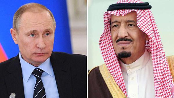 Владимир Путин и Салман аль Сауд
