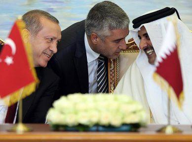 Реакция Турции на арабский бойкот Катара в цифрах