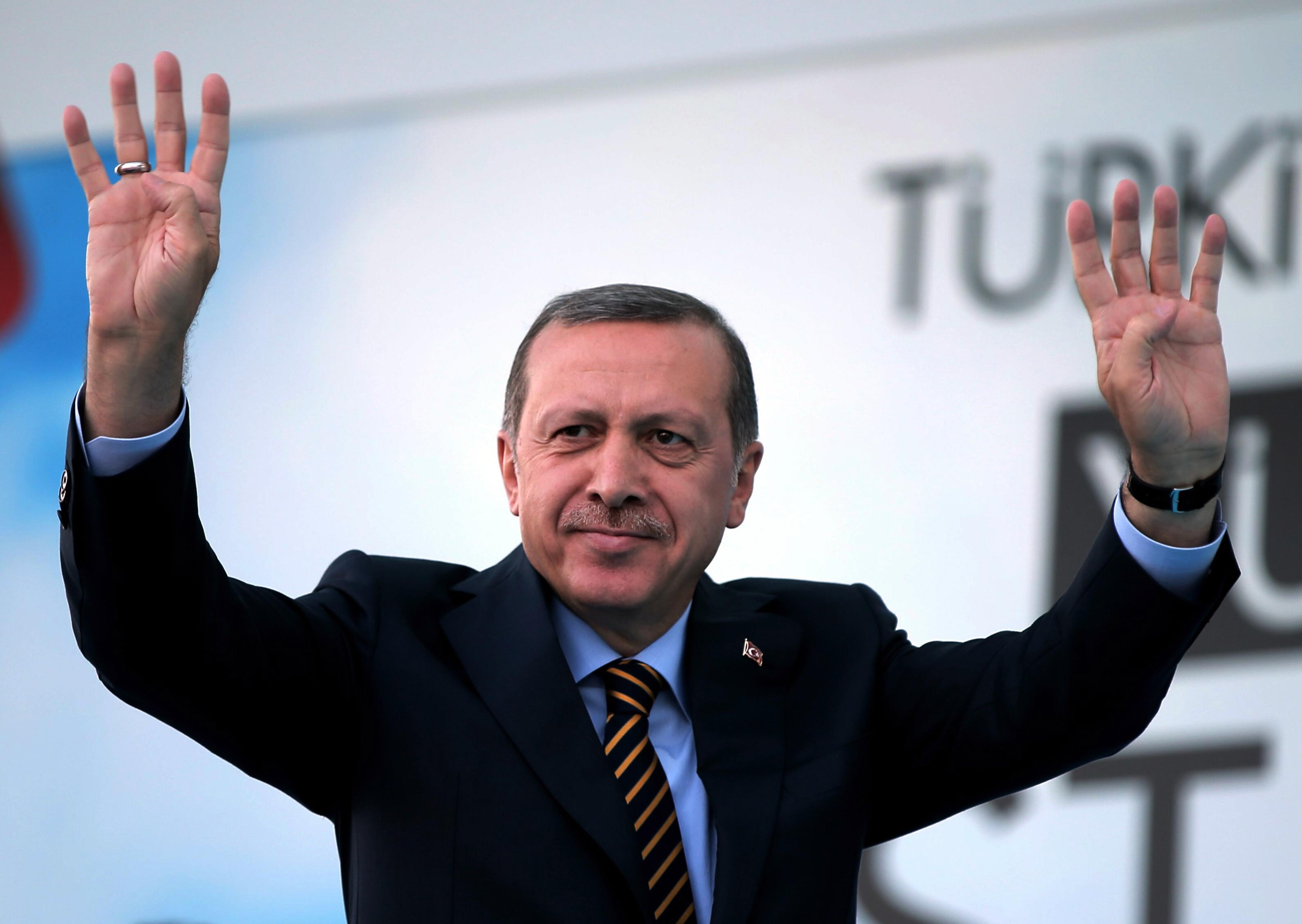 Эрдоган выступил на ифтаре с политической проповедью (ВИДЕО)