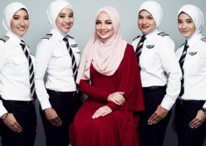 Эти летчицы в хиджабах разбивают стереотипы об «угнетенных женщинах Востока»