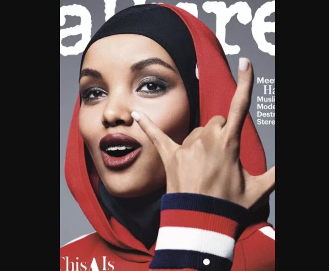 Красавица в хиджабе покорила обложку журнала Allure