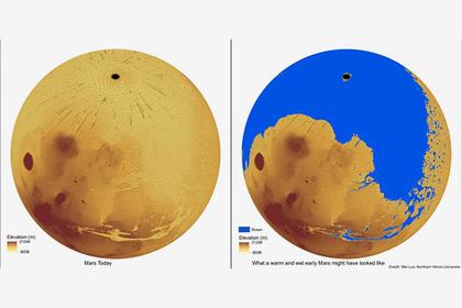 Ученые сделали поразительное открытие на Марсе