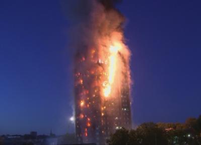 Десятки жильцов сгоревшей высотки в Лондоне спаслись благодаря Рамадану (ВИДЕО)
